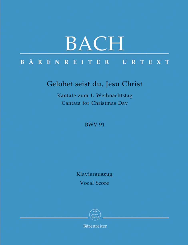Gelobet seist du, Jesu Christ BWV 91