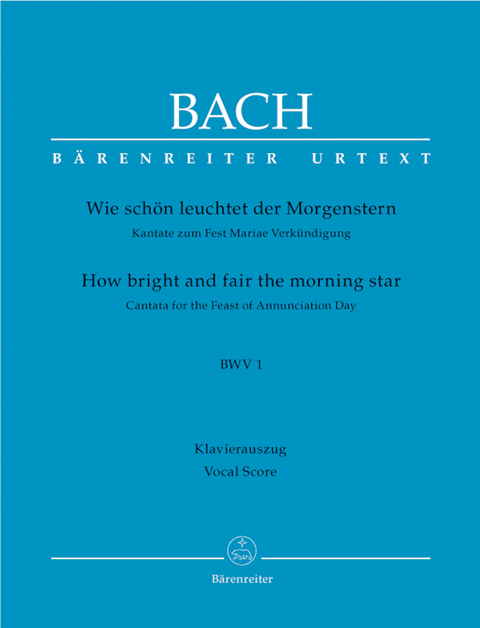 How bright and fair the morning star BWV 1