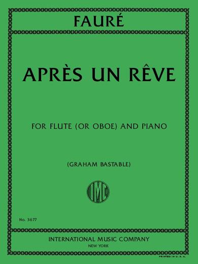 Apres Un Reve, Op. 7, No. 1