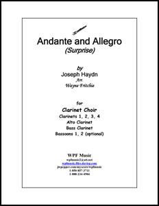 Andante (Surprise) and Allegro