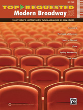 Top-Requested Modern Broadway Sheet Music