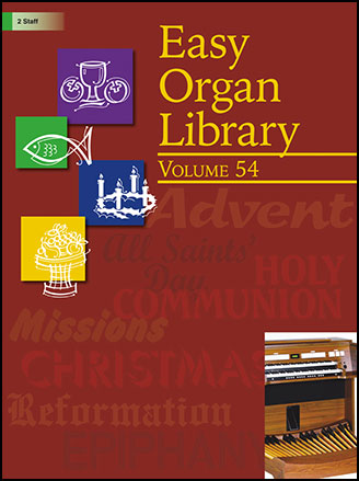 Easy Organ Library Vol. 54