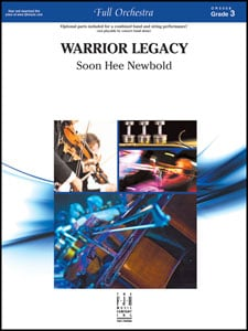 Warrior Legacy choral sheet music cover