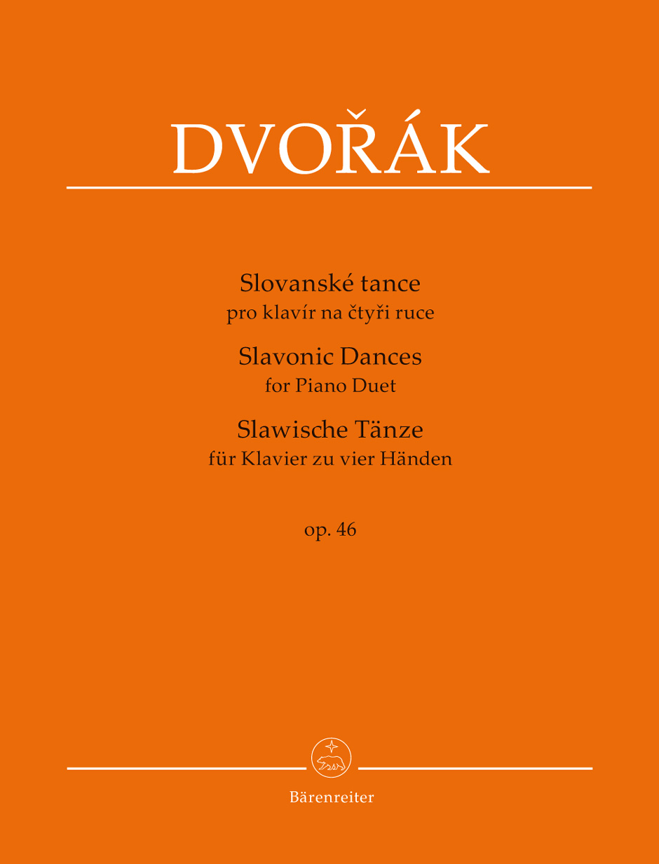 Slavonic Dances for Piano Duet, Op. 46