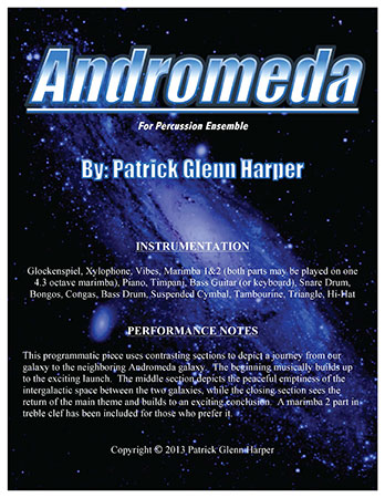 Andromeda for Percussion Ensemble