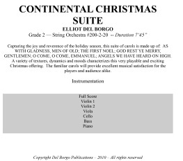 Continental Christmas Suite