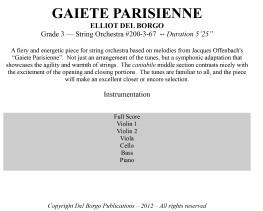 Gaiete Parisienne