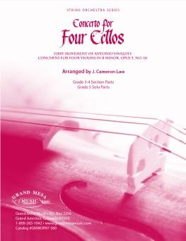 Concerto for Four Cellos