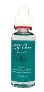 C.G. Conn Rotary Valve Oil
