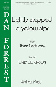 Lightly Stepped a Yellow Star