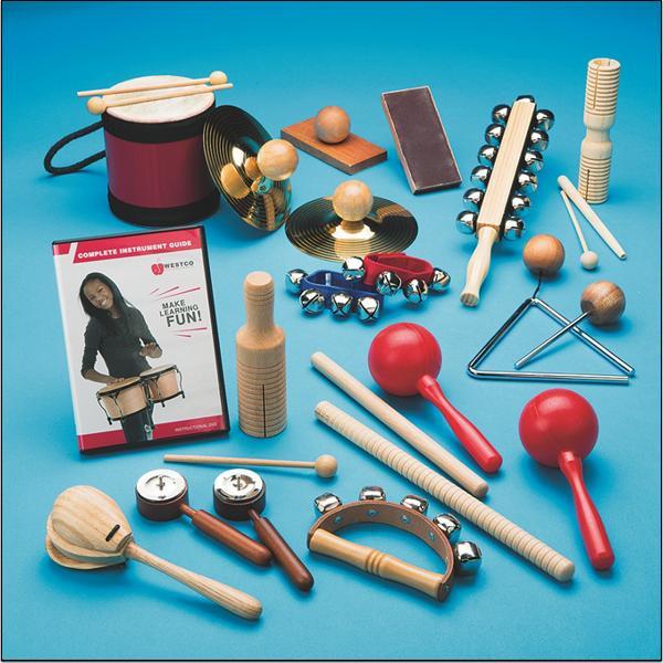 Rhythm Band Instrument Set 15 Players
