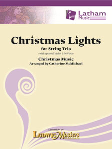 Christmas Lights for String Trio