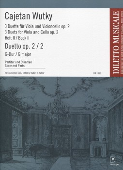 Duetto, Op. 2 No. 2 in G Major
