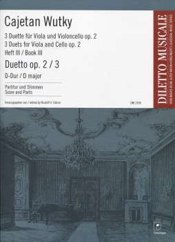 Duetto, Op. 2 No. 3 in D Major