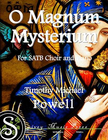 O Magnum Mysterium myscore sheet music cover