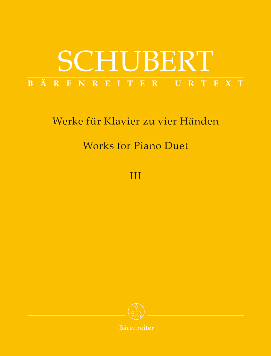 Works for Piano Duet, Vol. 3