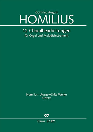 12 Choral Arrangements for Organ and Melodic Instrument
