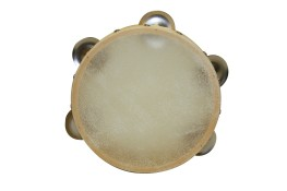 Tambourines Plastic Rim with Cowhide Head