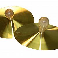 Cymbals Solid Brass