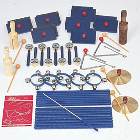 Rhythm Band Instrument Set 25 Players