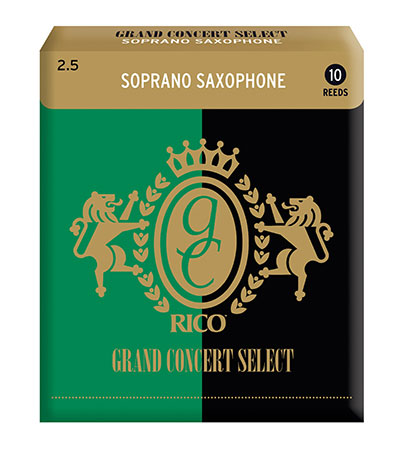 Rico Grand Concert Select Soprano Saxophone Reeds