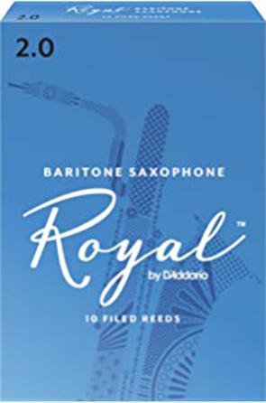 Royal by D'Addario Baritone Sax Reeds