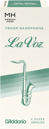 LaVoz Tenor Saxophone Reeds