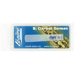 Legere Synthetic B Flat Clarinet Reeds German Cut