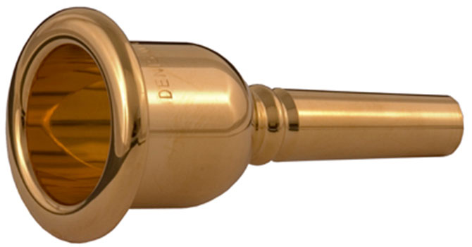 Denis Wick C Tuba Mouthpiece Gold Plated