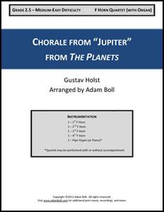 Chorale from Jupiter Thumbnail