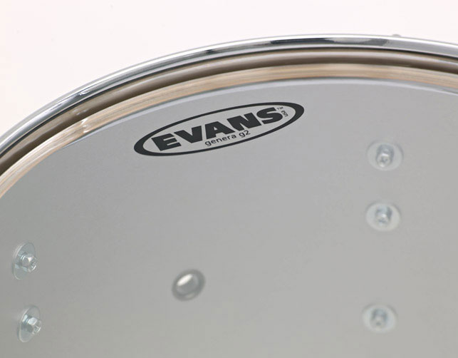 Evans G2 Clear Batter Drum Heads