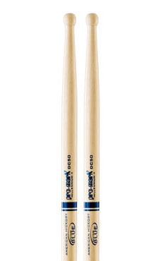 Promark DC50W System Blue Marching Snare Drum Sticks