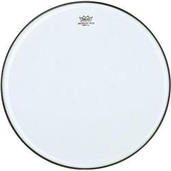 Remo Marching Snare Side Clear Ambassador Drum Heads, No Collar