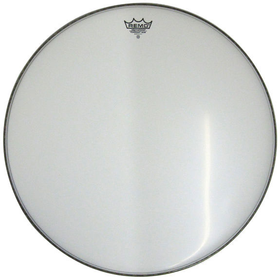 Remo PowerMax White Marching Bass Drum Heads