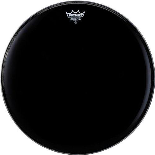 Remo Ebony Powermax Marching Bass Drum Heads