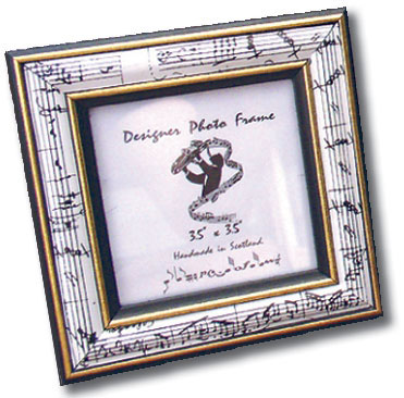 Picture Frame - Mozart White Small