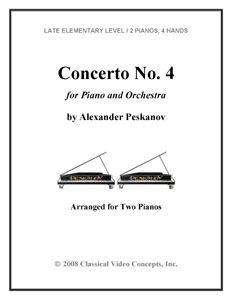 Concerto No.4 for Piano and Orchestra