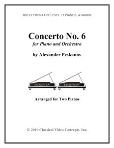 Concerto No.6 for Piano and Orchestra
