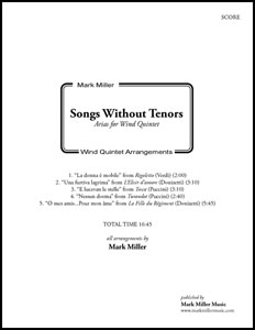 Songs Without Tenors