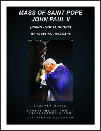 Mass of Saint Pope John Paul II