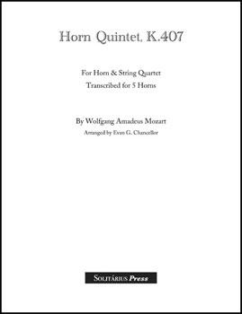 Quintet for Horn K. 407