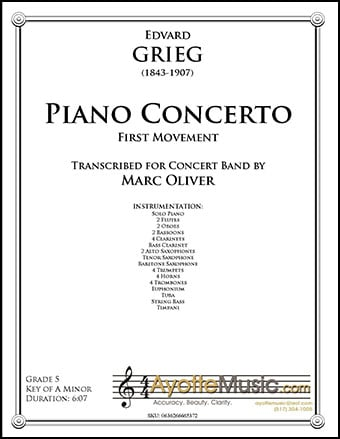 Piano Concerto in A minor (First Movement)