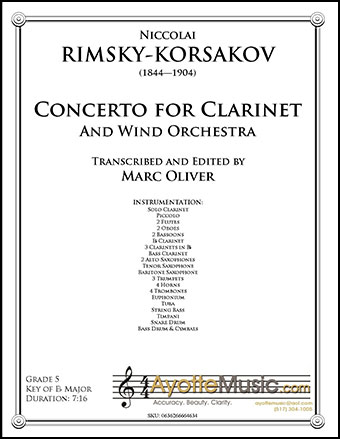 Concerto for Clarinet and Wind Orchestra