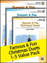 Famous and Fun Christmas Duets Value Pack