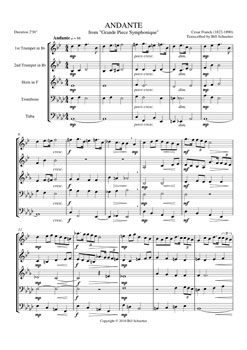 Andante from Grand Piece Symphonique