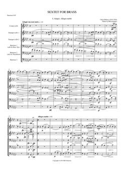 Brass Sextet #1 Adagio Allegro Molto