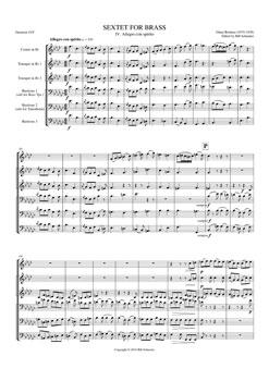 Brass Sextet #4 Allegro Con Spirito