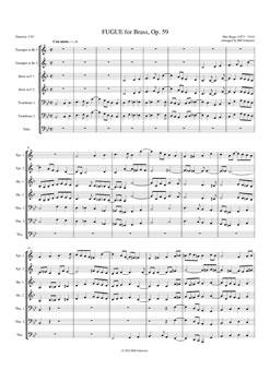 Fugue, Op. 59