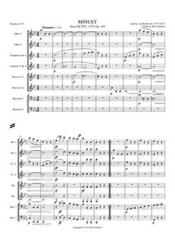 Minuet from Octet Opus 103
