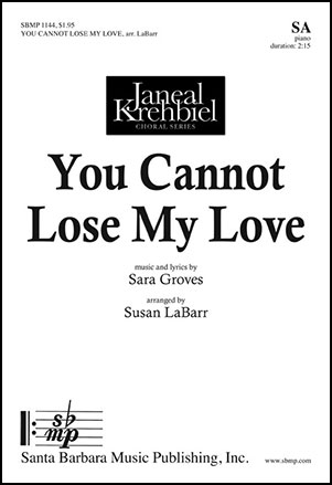 You Cannot Lose My Love